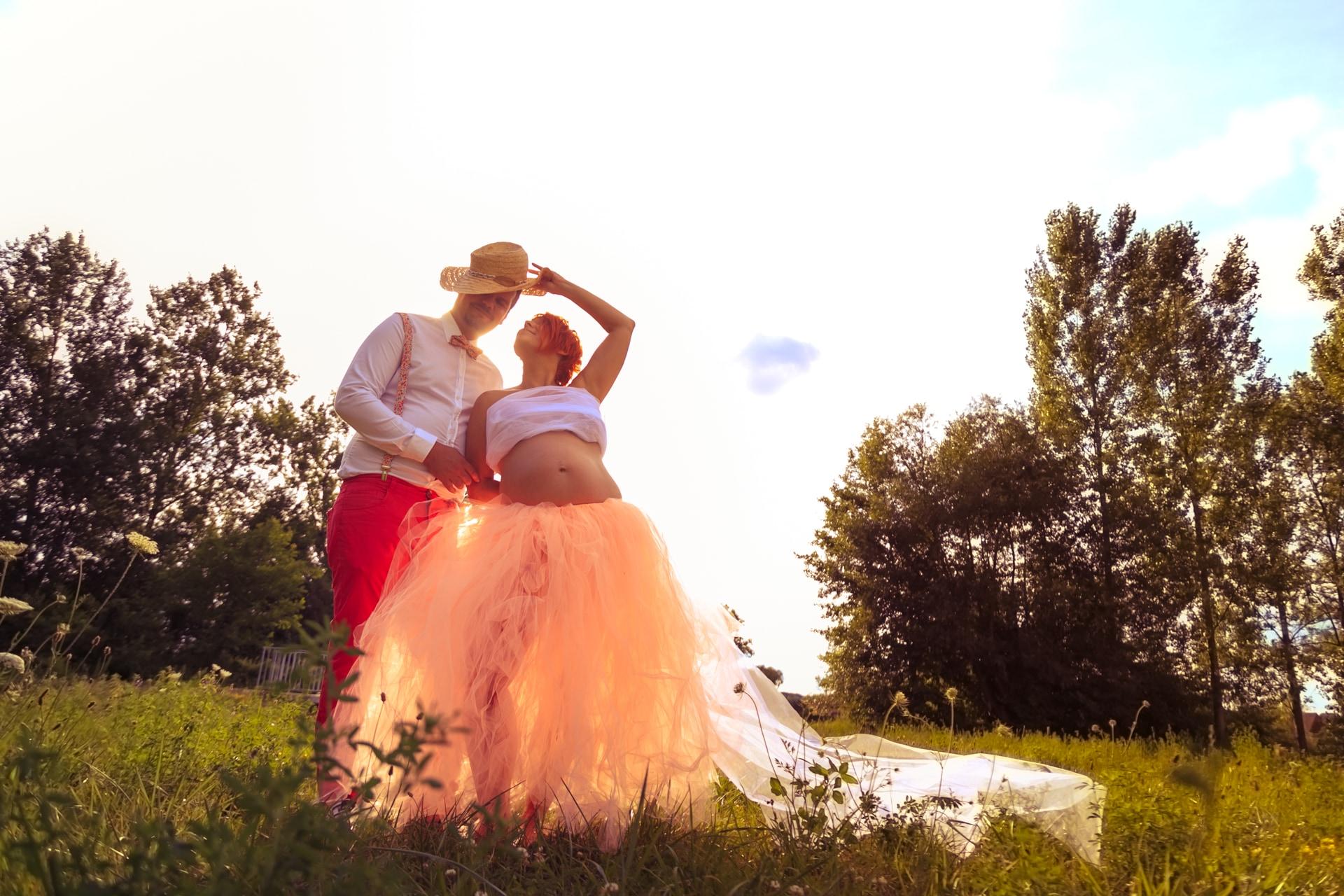 Photo de couple une belle journée de printemps services photos Photographe Guénange